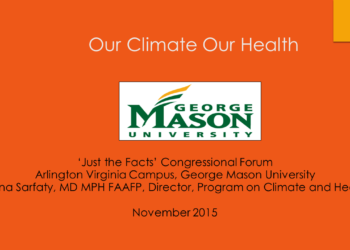 Just the Facts: Climate Change in Virginia — Congressional Forum