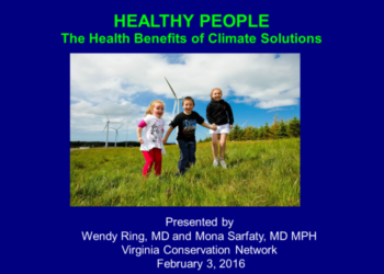 The Health Benefits of Climate Solutions