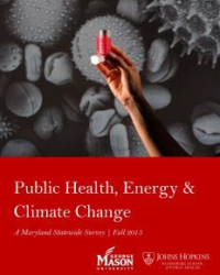 Public Health, Energy and Climate Change: A Maryland Statewide Survey, Fall 2015