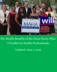 The Health Benefits of the Clean Power Plan: A Toolkit for Health Professionals